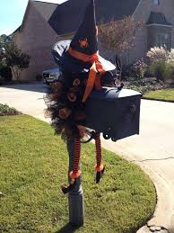 Halloween Crafts Witches by Witch Mailbox Halloween Crafts Pinterest Witches Halloween