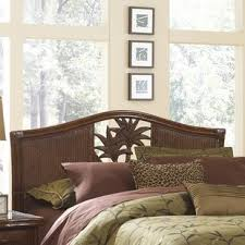 wicker u0026 rattan headboards you u0027ll love wayfair