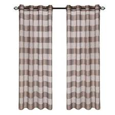 Grommet Curtains 63 Length Lavish Home Grey Sofia Grommet Curtain Panel 95 In Length 63