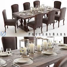 pottery barn lorraine table u0026 callahan chairs