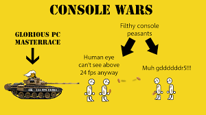 the console war pcmasterrace