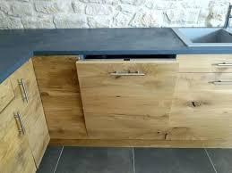 cuisine en bois naturel table cuisine bois brut meuble cuisine rustique bar de cuisine en