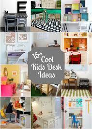 Kids Homework Desk 15 Kids Desks Diy Ideas Desks And Room