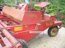 old windrower windrower swather tractor wisconsin engine antique