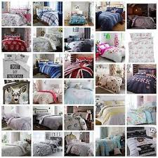 Catherine Lansfield Duvet Covers Catherine Lansfield Duvet Quilt Cover Bedding Sets Cotton Rich