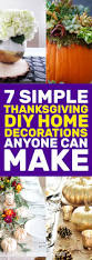 Home Decor Diys 7 Simple Home Decor Thanksgiving Diys