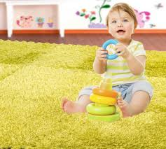 hemingweigh fuzzy area rug 9 fluffy carpet tiles for kids