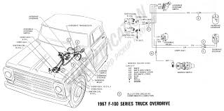 ford truck technical drawings and schematics at 1968 f100 wiring