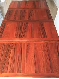 Rosewood Laminate Flooring Midcentury Modern Rosewood Dining Table By Kai Winding Denmark