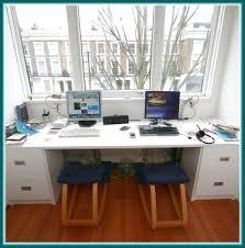 two person computer desk nana u0027s workshop