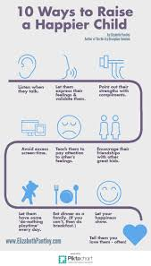 these tips for how to raise a happy healthy child from