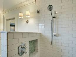 subway tile shower surround design ideas