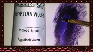 williamsburg egyptian violet oil paint youtube