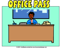 Bathroom Pass Template Printable Office Pass Templates