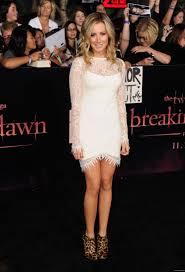 Ashley White by Ashley Tisdale At The Twilight Saga Breaking Dawn Part 1 Premiere