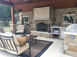 austin tx custom outdoor fire features