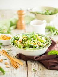 cuisiner les tomates vertes salade haricots verts tomates vertes chèvre amandes et raisins