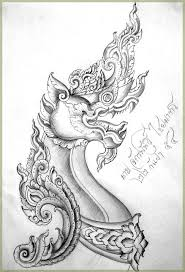 naga tattoo thailand naga pinteres