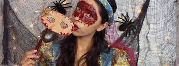skinned masquerade mask makeup tutorial halloween costume ideas