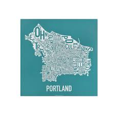 Portland Neighborhoods Map by Portland Neighborhood Map 12 5