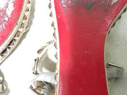christian louboutin studded cataclou platform shoes espadrille