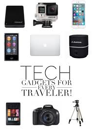 2016 new technology gadgets pictures to pin on pinterest packing essentials tech gadgets for every travellers bag seven