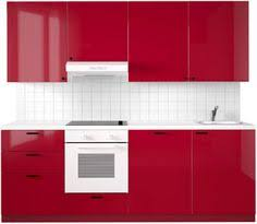 Red Ikea Kitchen - unlike this red ikea kitchen which dates back to mid 2000s a