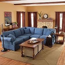 Denim Sectional Sofa Zuo Blue Denim Brand Sectional Basement Makeover Modern And Men