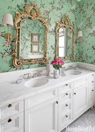 bathroom with wallpaper ideas cheerful 11 wallpapered bathrooms gorgeous wallpaper ideas for