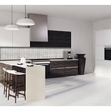 cuisine effet bois crédence texture bois clair verre et alu credence cuisine deco
