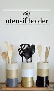 kitchen utensil canister top 10 best diy kitchen utensil holders chalk typography
