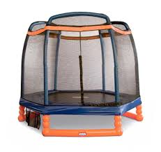 little tikes 7 foot active bouncer trampoline toys