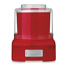 bed bath and beyond ice maker cuisinart ice cream and sorbet maker in red bed bath beyond