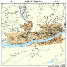 map of williamsport pa williamsport pennsylvania map 4285312
