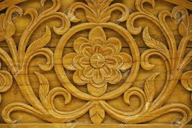 detail of carved wood decorative stock photo picture and royalty