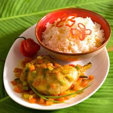 cuisine antillaise colombo de poulet colombo de poulet caraïbes colombo poulet et