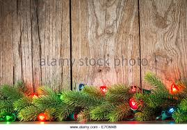 Branches With Lights Christmas Garland Fir Lights Stock Photos U0026 Christmas Garland Fir