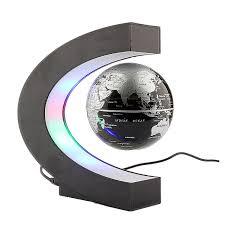 World Map Globe by Magnetic Levitation Floating Globe World Map With Led Light