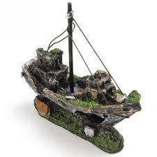 aliexpress buy beautiful aquarium ornament wreck sailing