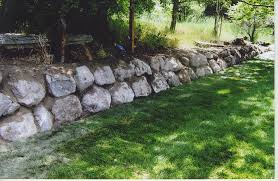 natural stone garden wall interiors design