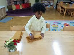 Table Setting Healthy Beginnings Montessori by Palos Verdes Palos Verdes Montessori Academy