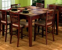 furniture scenic counter height dining table standard round