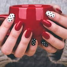 Nail Art Design Black Best 25 Red Black Nails Ideas On Pinterest Halloween Nail Art