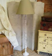 floor lamp shabby chic floor lamps french white wood lamp with