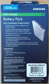 samsung fast charge 5200mah battery pack review feedingmobile