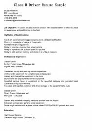 Dj Resume Resume Cv Cover Letter by Class B Driver Cover Letter