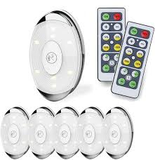 lights kitchen cabinets battery operated led puck light led lights battery operated with remote wireless soft lighting cabinet lighting for kitchen timer dimmer 4000k warm