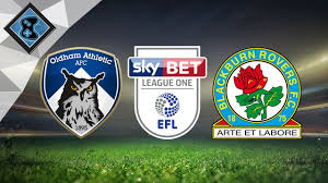 Blackburn Flags Blackburn Rovers Vs Oldham Athletic 14th October Youtube