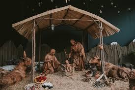 nativity scene freely photos