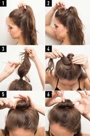 sock hair bun needed sock for a hair bun 16 ways to try now